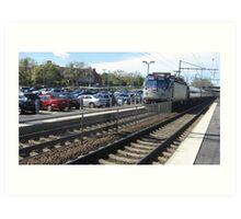 942 Amtrak Regional Art Print