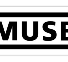 Muse Logo - Black Sticker