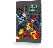Pokevengers t shirt, iphone case & more Greeting Card