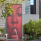 The Crown Fountain by Kelly Chiara