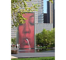 The Crown Fountain Photographic Print