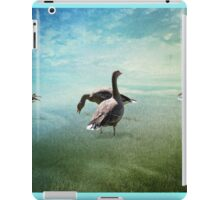 Going for a paddle! iPad Case/Skin