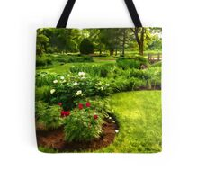Lush Green Gardens - the Beauty of June Tote Bag