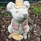 Cheeky faced Mouse Gnome -  Stokes' Farm by EdsMum