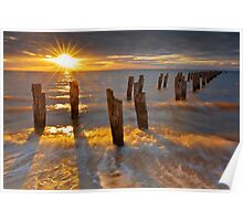 Sunset at the Dell - Clifton Springs Poster