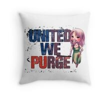 The Purge Throw Pillow