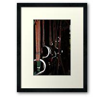 The Tack Room Framed Print