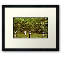 The Game 1866 Framed Print