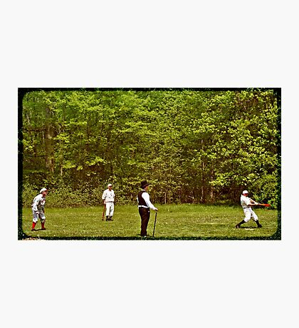 The Game 1866 Photographic Print