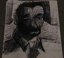 Self Portrait (short hair, beard) by Sean Smith