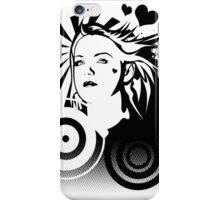 Holly BW iPhone Case/Skin