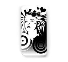 Holly BW Samsung Galaxy Case/Skin