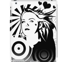 Holly BW iPad Case/Skin
