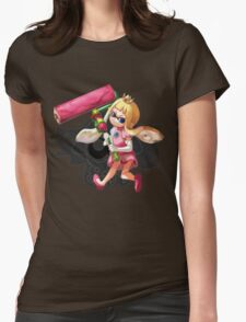 PRINCESS SQUID Womens Fitted T-Shirt