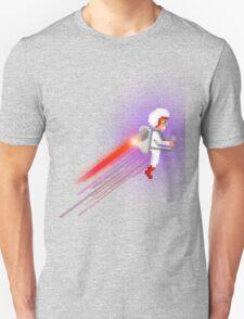 8bit pixel 80s Jetpack Geek from Space T-Shirt