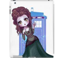 TARDIS woman   iPad Case/Skin
