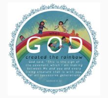 God's Rainbow One Piece - Short Sleeve