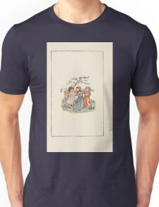 Mother Goose or the Old Nursery Rhymes by Kate Greenaway 1881 0010 Dancing Under the Tree Unisex T-Shirt