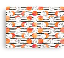 Fruity Orange Canvas Print