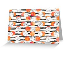 Fruity Orange Greeting Card