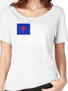 CHRISTIAN FLAG Women's Relaxed Fit T-Shirt