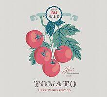 Veg Love Collection No.5 Tomato by jjsgarden