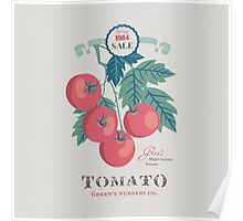 Veg Love Collection No.5 Tomato Poster