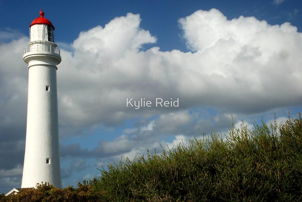 Lighthouse, Great Ocean Road, Victoria by Kylie Reid
