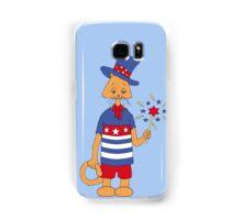 Yankee Doodle Kitty Samsung Galaxy Case/Skin