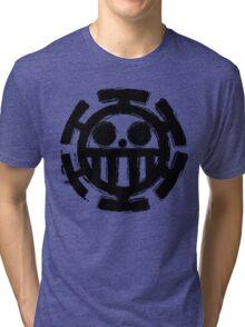 Trafalgar Law Logo Tri-blend T-Shirt