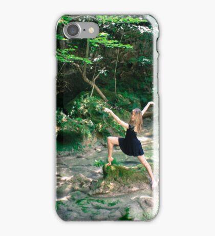 Mari dancing iPhone Case/Skin