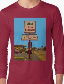 Lisa's Fried Chicken T-Shirt Long Sleeve T-Shirt