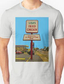 Lisa's Fried Chicken T-Shirt Unisex T-Shirt