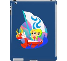 Link and Zelda at Sea iPad Case/Skin