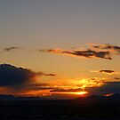 Salt Lake Sunset by Dana Roper