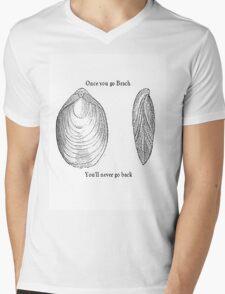Once you go Brach Mens V-Neck T-Shirt