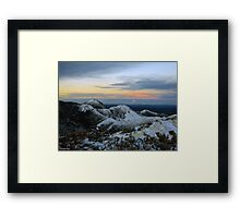 Shivers Framed Print
