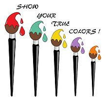 Show Your True Colours by redqueenself