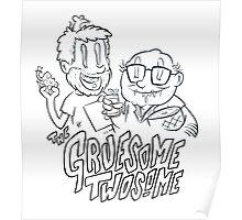 Gruesome Twosome - It's always sunny in Philadelphia fan art Poster