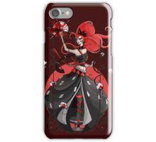 Queen of Hearts: Painting the Roses Red iPhone Case/Skin