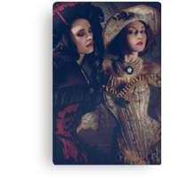 Queen Pirates Canvas Print