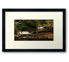 West Burton Falls, Bishopdale, Yorkshire Dales. Framed Print