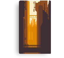 8bit Sunset Canvas Print