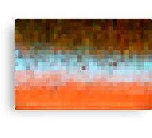 Nature Pixels No 1 Canvas Print