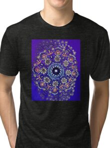 Tibet-blue Tri-blend T-Shirt