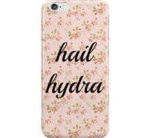 hail hydra floral iPhone Case/Skin