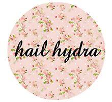 hail hydra floral by Caitlin Hallam