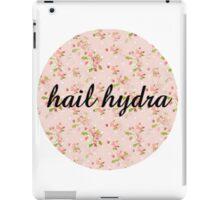 hail hydra floral iPad Case/Skin