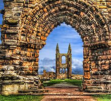 St. Andrews Cathedral in Scotland by Michael Stiso