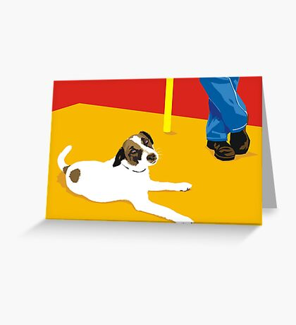 biding our time Greeting Card